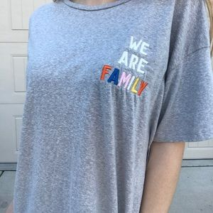 336eb3017 Junk Food Clothing Tops | We Are Family Junk Food Tee | Poshmark